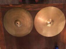 Zildjians 16� High Hat Cymbals 2
