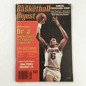 Basketball Digest Magazine November 1983 NBA 7ers Julius Erving No Label