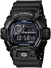 Casio G-Shock Solar Powered Cinturino Nero Quadrante Nero Watch GR-8900A-1ER RRP £ 120