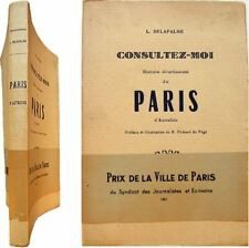 Consultez-moi Histoire divertissante du Paris d'autrefois 1960 Louise Delapalme