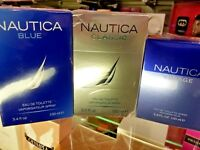 Nautica BLUE | CLASSIC | VOYAGE 3.4 oz / 100 ml Eau de Toilette EDT Spray SEALED