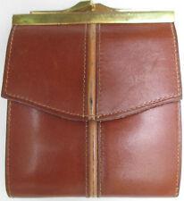 -AUTHENTIQUE portefeuille  LE TANNEUR   cuir  TBEG vintage 60's