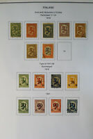 Finland High Retail Value Good Completion Stamp Collection