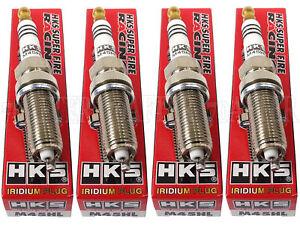 [Set of 4] HKS 50003-M45HL Super Fire Racing Iridium Spark Plugs Heat Range #9