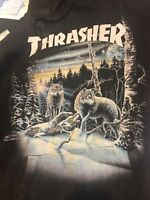 Rare 13 Wolves Thrasher Hoodie Medium