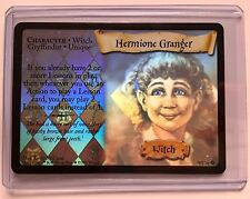 Harry Potter HERMIONE GRANGER 9/116 WITCH ©2001 MIRROR HOLO Vintage Rare MINT