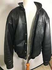 LEATHER JACKET ROUSH RACING TEAM ISSUED ONLY RACE USED COAT LARGE/44 Htf