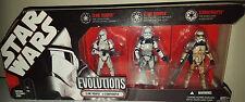 Star Wars Stormtrooper Evolution Set *NEW * 30th Anniversary RARE