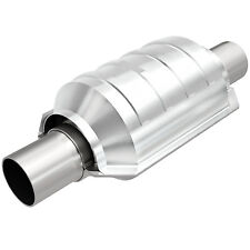 """Magnaflow 53104 Universal High-Flow Catalytic Converter Round 2"""" In/Out"""