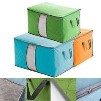 1/3 Large Storage Bag Box Jumbo Clothes Quilt Bedding Duvet Laundry Pillow Zip