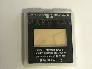 Mary Kay Mineral Shimmer Powder, Canary Diamond, 020422, .28 oz.