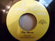 "7"" CLIFF NOBLES & CO - The Horse + Fantastic Johnny C - EX - GOLD SOUL GS-7 - US"
