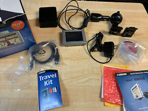 Garmin Nuvi 350 NA Automotive Mountable GPS Tested/ Working Box Papers More Part