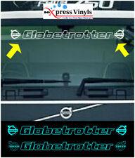 Volvo windscreen decal. globetrotter truck sticker graphic FM FH