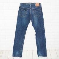 Levi's Jeans Uomo Tgl W34 - L36 Modello 505 Regular Fit