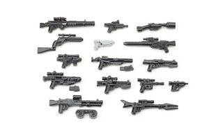 BrickArms Star Wars™ Blaster Stellar Waffen Set, Custom für LEGO® Figuren