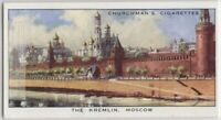The Kremlin Moscow Russia Vintage Trade Ad Card
