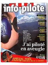 INFO-PILOTE n°609 du 12/2006; Piloté aveugle/ Moldavie sur les traces de tintin