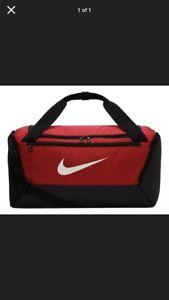 Nike Brasilia Training Duffel Bag Small (University Red) BA5957-657