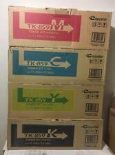 Full Set Genuine Copystar TK-859 (CS-400/500ci )Toner Black/Cyan/Yellow/Magenta