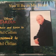 PHIL COLLINS You'll Be In My Heart Disney's Tarzan 2 Track CD Single 1999 Mint