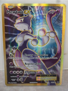 2016 Pokemon XY Evolutions Mewtwo EX FULL ART #103/108