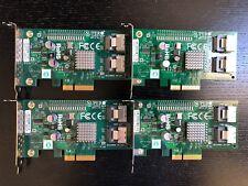 Lot of 4 Supermicro RAID Controller SAS/SATA 3Gbs AOC-SASLP-MV8