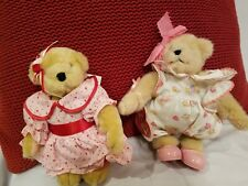 Muffy Valentine W Tags in Pink Dress w Red Hearts & White Heart Jumpsuit