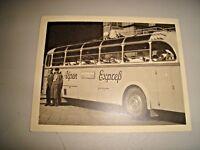 foto originale anni '50 AUTOBUS ALPEN EXPRESS MIROPAREISEN SALZBURG - 12,5 x 10