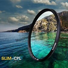 Zomei 82 mm Ultra Slim CPL Circular Polarizing Polarizer Filter for Camera Lens