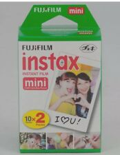 Fujifilm Instax Mini Film Twin Pack 20 Prints for Fuji  50s 25 7s 90 Mini8 Mini9