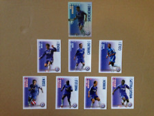 8 x CHELSEA SHOOT OUT TRADING CARDS 2006 / 2007 SEASON YELLOW BACKS 1 x shiny