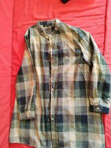 """ROBE tunique chemise """"zanzea"""" taille XL neuf 80 %coton manches longues"""