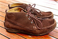 GEOX RESPIRA jolies chaussures homme daim marron pointure 42