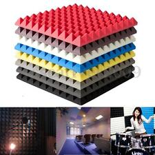 50x50x3cm Soundproof Sound Stop Absorption Pyramid Studio Foam Sponge Random L/M