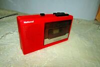 Vintage Stereo Cassette Player-Walkman RED (Model RQ-341) National Made In Japan