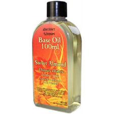 Sweet Almond Base Oil Aromatherapy Massage Carrier Oil - 100ml Bottle