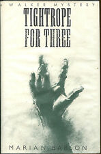 Tightrope for Three by Marian Babson-1st American Ed./DJ-1989-Review Copy