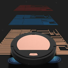 Robot Vacuum Cleaner 3.7V 3W Auto Sweeper for Hard Floors Carpets 1800Pa