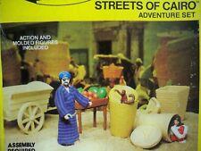 K1805621 STREETS OF CAIRO MIB NEAR MINT IN BOX INDIANA JONES 100% COMPLETE 1982
