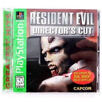 Resident Evil Director's Cut (Sony PlayStation 1, 1998) Complete Tested