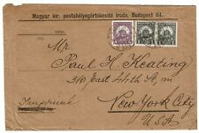 Hungary 1920s Cover to Usa - Lot 100917