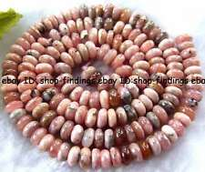4x6mm Natural Argentina Rhodochrosite rondelle gemstone Beads 16""