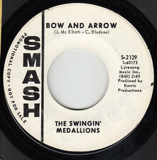 SWINGIN' MEDALLIONS -Smash 2129- Bow and Arrow / Where Can I Go to Get Soul- DJ