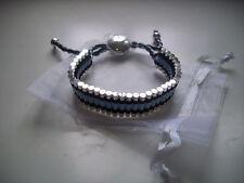 Bracelet.Choice of colours.Skull,Friendship,Charm,Shambella.Gift.UK