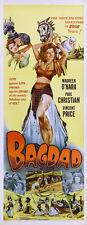Bagdad Maureen O'Hara Vincent Price movie poster print 3