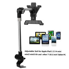 "Adjustable Car Floor Seat Mount Holder Stand for Tablet iPad 2 3 Air Min 7-10""UB"