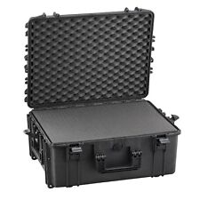 XL Waterproof Suitcase Aircraft Hold Luggage Protective Hard Camera Case + Foam