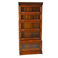 NOF015, Niagara Furniture, Stacking Mahogany Bookcase, Mahogany Bookcase
