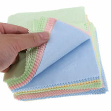 Pack 10 Microfibre Cleaning Cloth for Lenz/Clenz/Glasses/Lens Optical Wipes